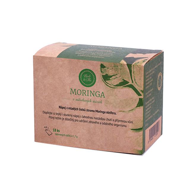 Herb & Me Moringou porciovaný čaj, 18 sáčkov