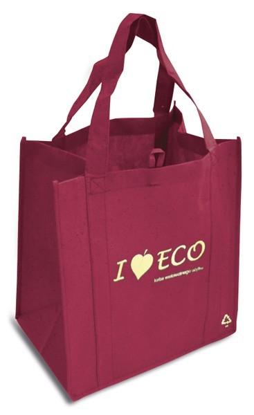 Zobrazit detail výrobku KPPS Nákupní taška I Love ECO vínová
