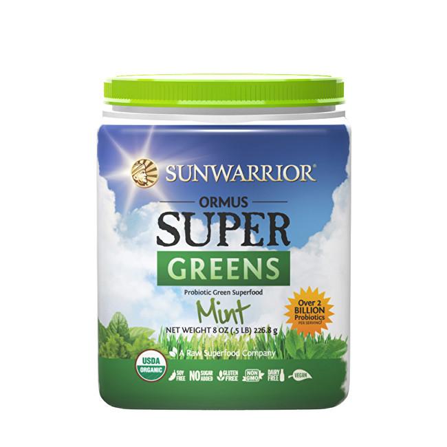 Zobrazit detail výrobku Sunwarrior Ormus Super Greens BIO mátový 454 g