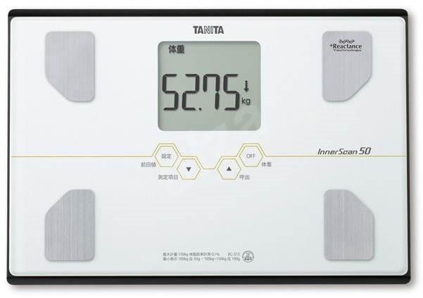 Tanita Osobní digitální váha BC-313 bílá s tělesnou analýzou