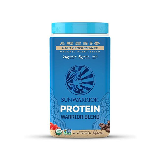 Zobrazit detail výrobku Sunwarrior Protein Blend BIO moka 750 g