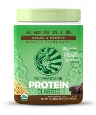 Zobrazit detail výrobku Sunwarrior Protein Classic čokoládový 375 g