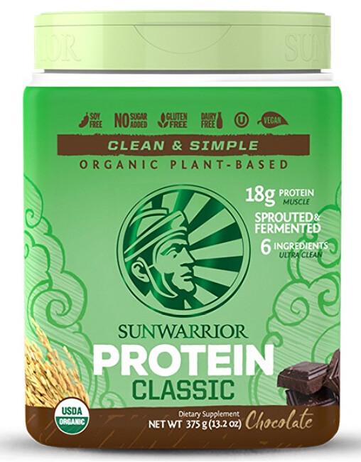 Zobrazit detail výrobku Sunwarrior Protein Classic čokoládový 750 g