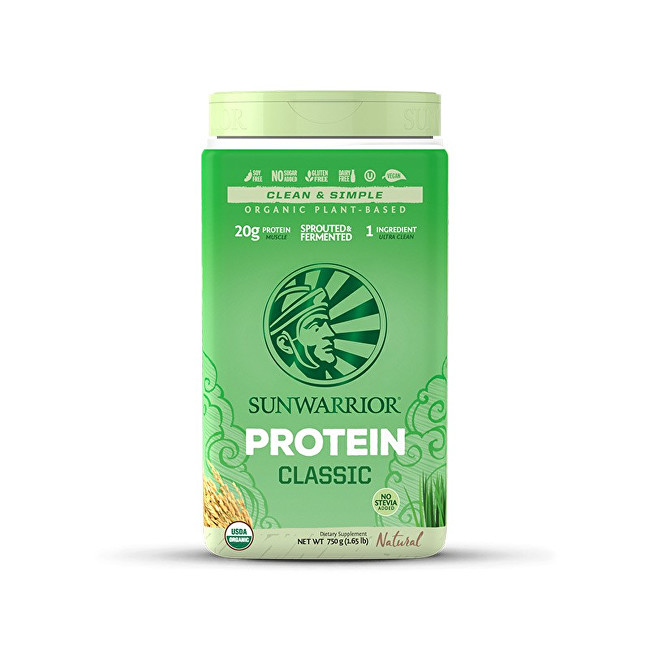 Zobrazit detail výrobku Sunwarrior Protein Classic natural 750 g