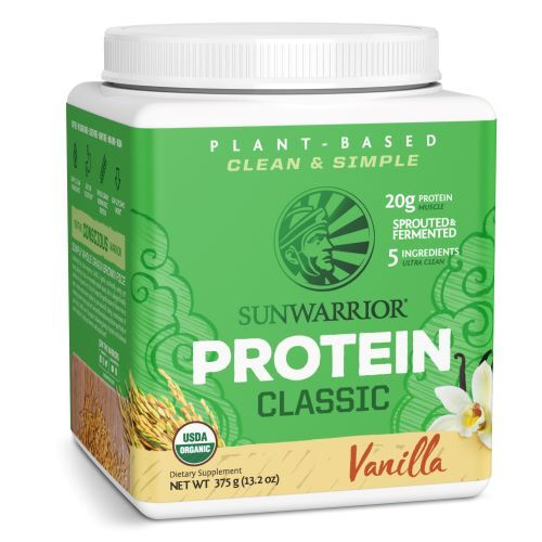 Sunwarrior Protein Classic vanilkový 375 g