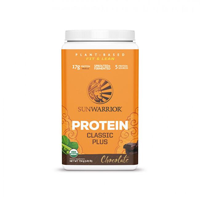 Zobrazit detail výrobku Sunwarrior Protein Plus BIO čokoládový 750 g