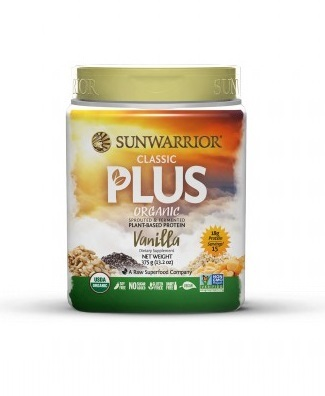 Zobrazit detail výrobku Sunwarrior Protein Plus BIO vanilkový 375 g