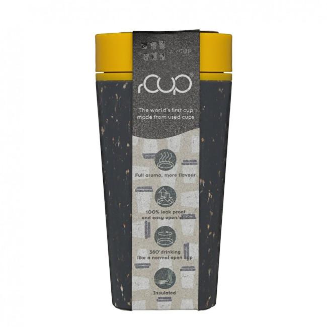 Zobrazit detail výrobku rCUP/Circular Cup rCUP opakovaně použitelný kelímek 340ml černá/hořčicově žlutá