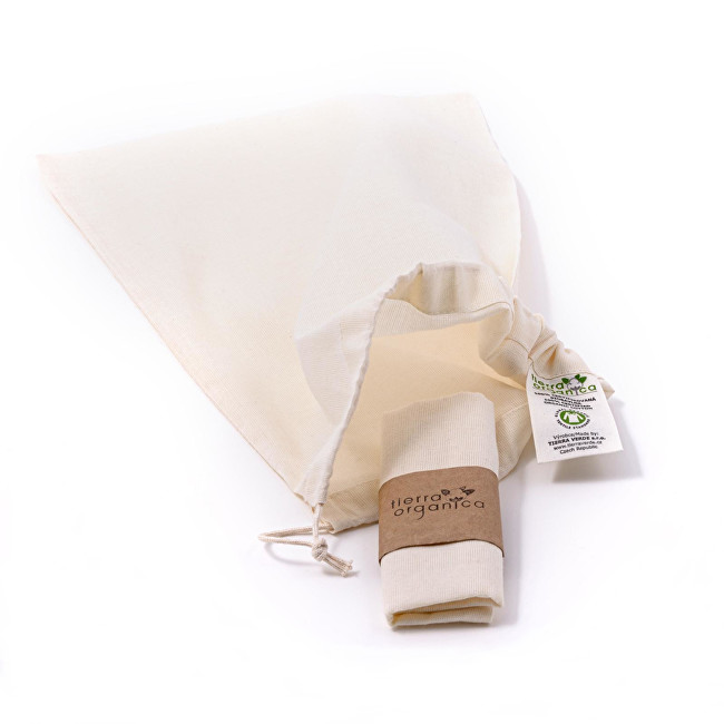 Zobrazit detail výrobku Tierra Verde Sada plátěných sáčků – malých (30×20 cm) 3 ks
