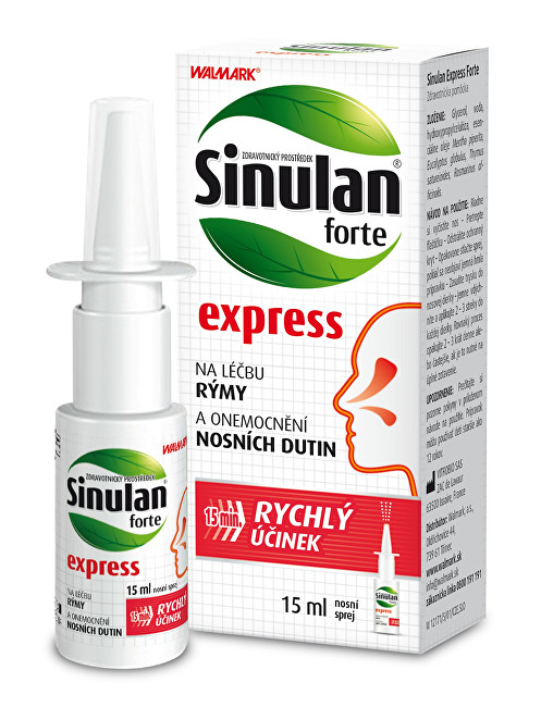 Walmark Sinulan Express Forte spray 15 ml