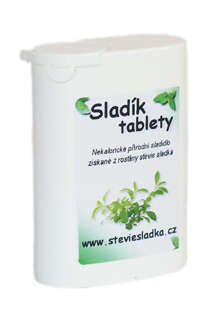 Zobrazit detail výrobku Salvia Paradise Sladík sladidlo - stévie sladká tablety 200 ks