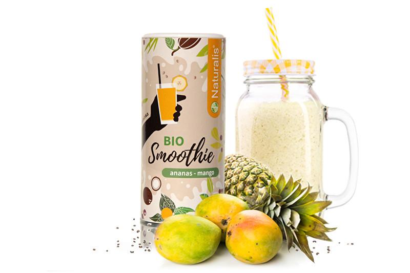 Zobrazit detail výrobku Naturalis Smoothie Ananas + Mango BIO 180 g