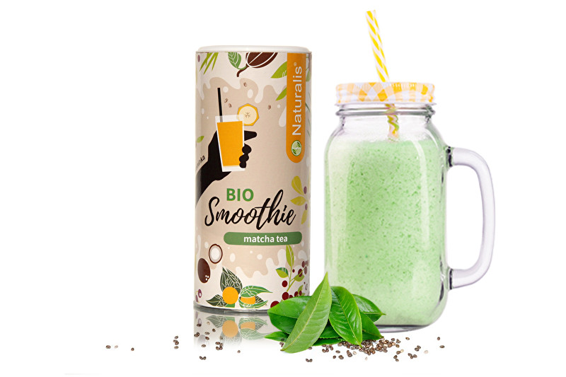 Naturalis Smoothie s Matcha tea BIO 180 g