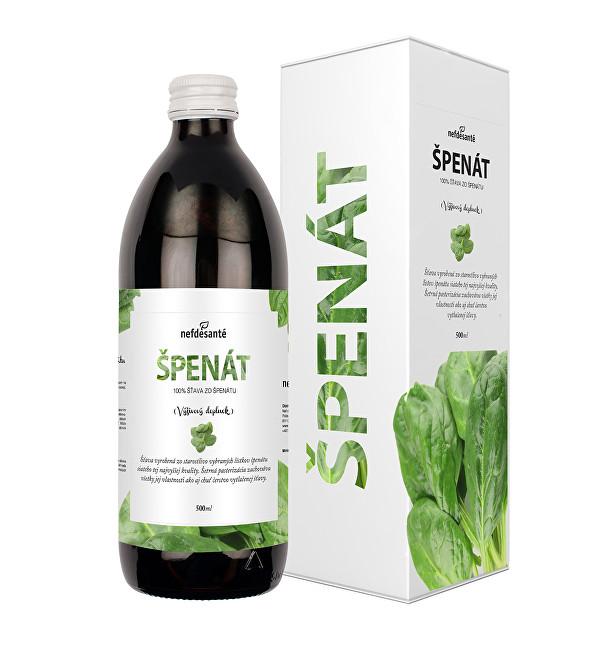 Zobrazit detail výrobku Nef de Santé Špenát - 100% šťava ze špenátu 500 ml