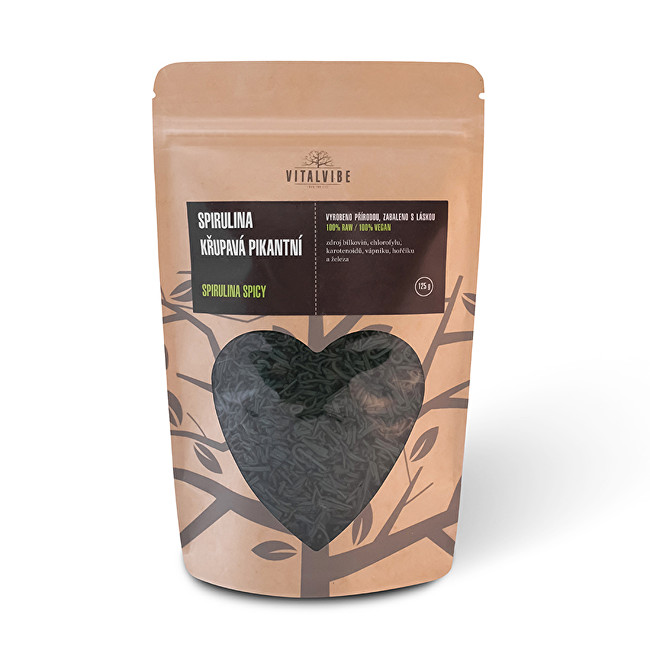 Zobrazit detail výrobku Vitalvibe Spirulina křupavá pikantní 125 g
