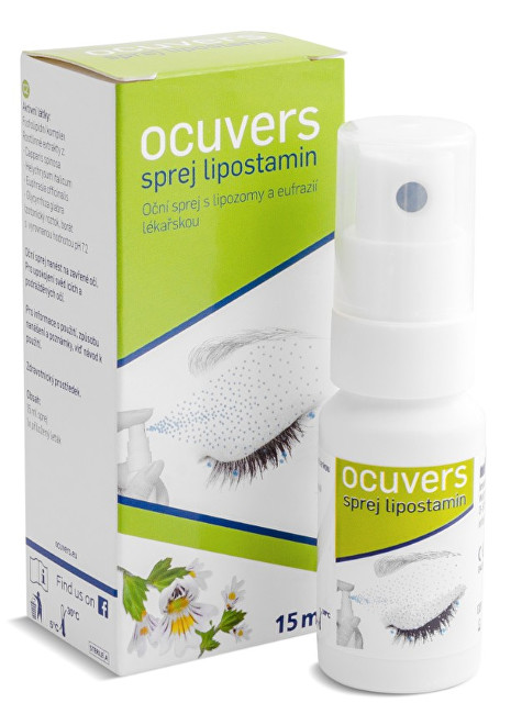 Ocuvers Spray lipostamin oční sprej 15 ml