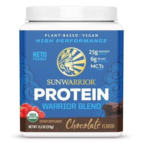 Zobrazit detail výrobku Sunwarrior Protein Blend BIO čokoládový 375 g