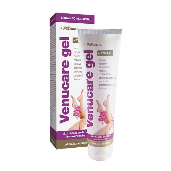 Zobrazit detail výrobku MedPharma Venucare® gel Natural pro těžké a unavené nohy 150 ml