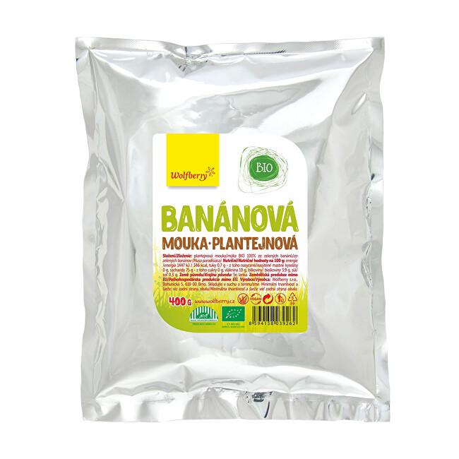 Zobrazit detail výrobku Wolfberry Banánová mouka plantejnová BIO