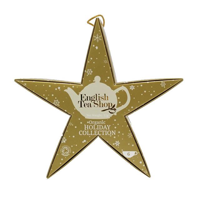 Zobrazit detail výrobku English Tea Shop Zlatá hvězda BIO 6 pyramidek