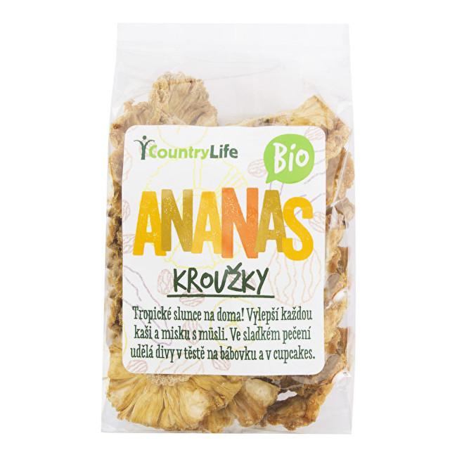 Zobrazit detail výrobku Country Life Ananas kroužky sušené BIO 100 g