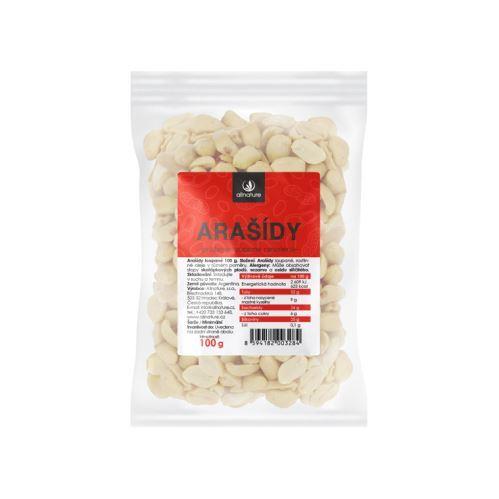 Zobrazit detail výrobku Allnature Arašídy pražené nesolené loupané 100 g