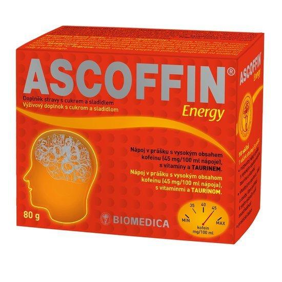 Zobrazit detail výrobku Ascoffin Energy 10 sáčků-8g