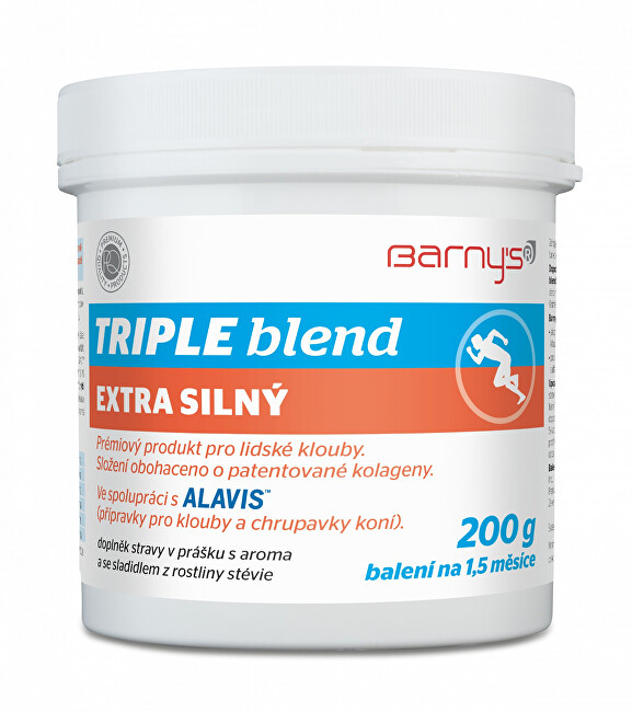 Zobrazit detail výrobku Barny´s Barny´s Triple blend EXTRA silný 200 g