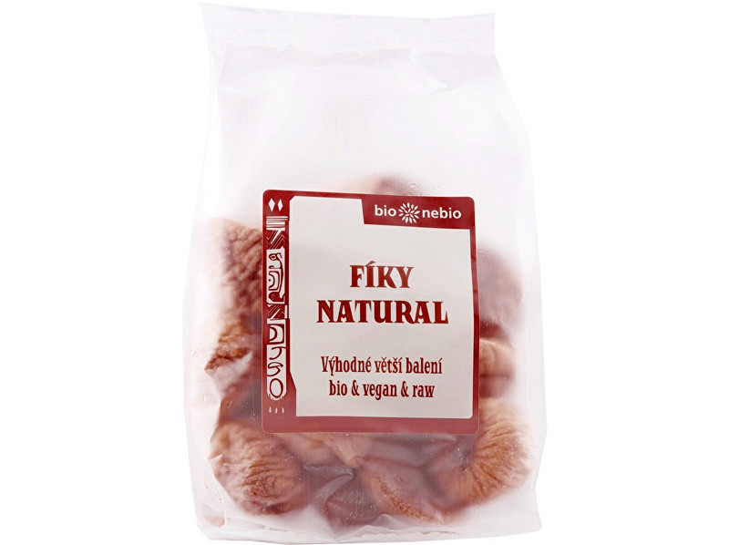 Zobrazit detail výrobku Bio nebio s. r. o. Bio sušené fíky Natural 300 g