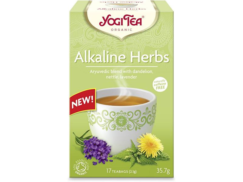 Zobrazit detail výrobku Yogi Tea Bio zásadité bylinky Yogi Tea 17 x 2,1 g