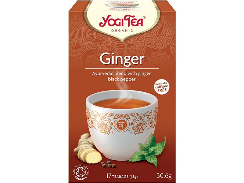 Zobrazit detail výrobku Yogi Tea Bio Zázvor Yogi Tea 17 x 1,8 g