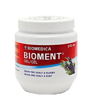 Bioment masážní gel 370 ml