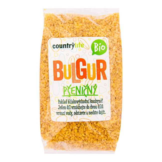 Zobrazit detail výrobku Country Life Bulgur pšeničný BIO 0,5 kg