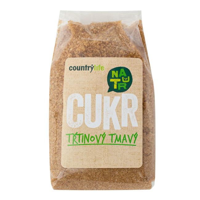 Country Life Cukor trstinový tmavý 500 g
