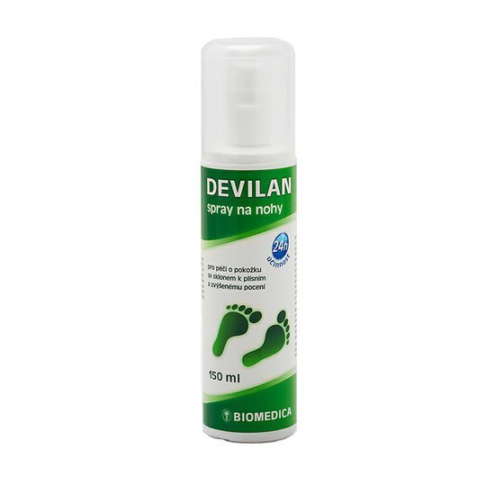 Biomedica Devilan spray na nohy 150 ml