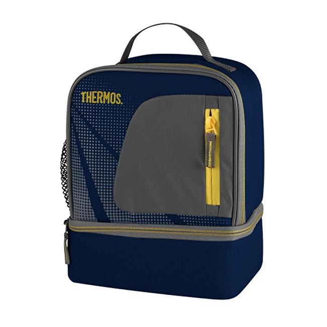 Zobrazit detail výrobku Thermos Dvoukomorová termotaška - modrá 3,9 l