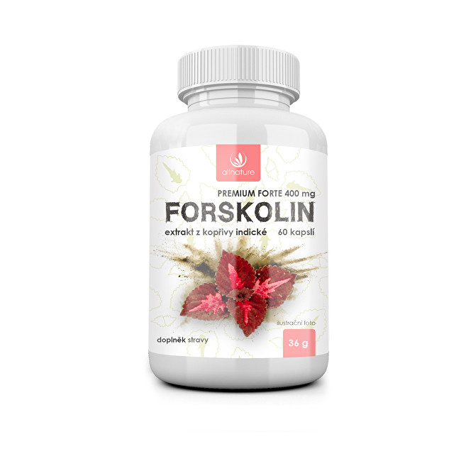 Forskolin Premium forte 400 mg 60 kapslí