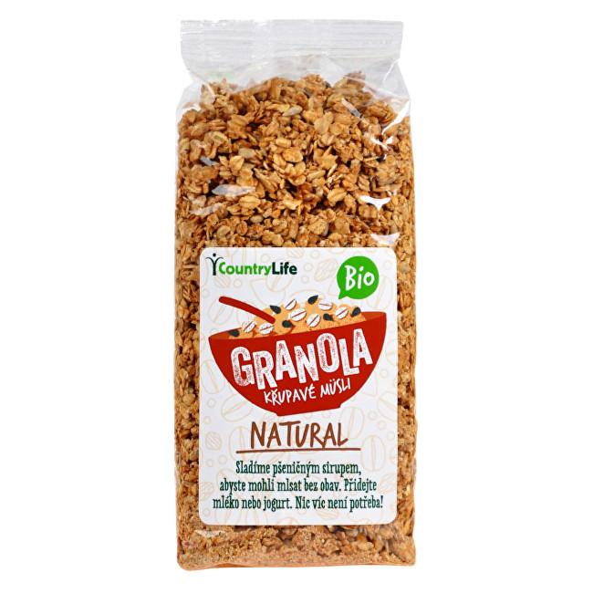 Zobrazit detail výrobku Country Life Granola - Křupavé müsli Natural BIO 350g