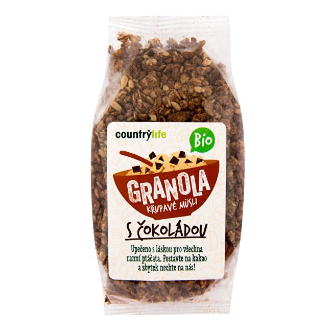 Zobrazit detail výrobku Country Life Granola - Křupavé müsli s čokoládou BIO 350g