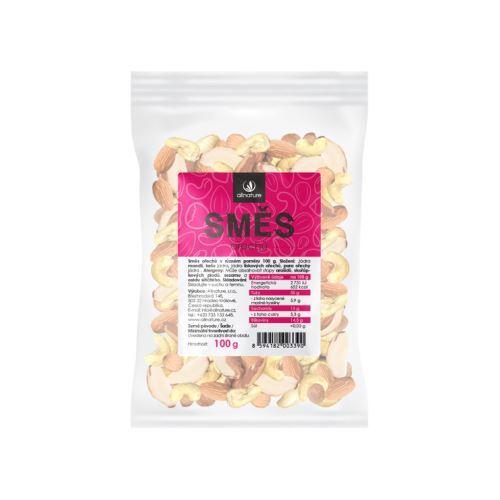 Zobrazit detail výrobku Allnature Jádra ořechů směs (mandle, lískače, kešu, para) 100 g