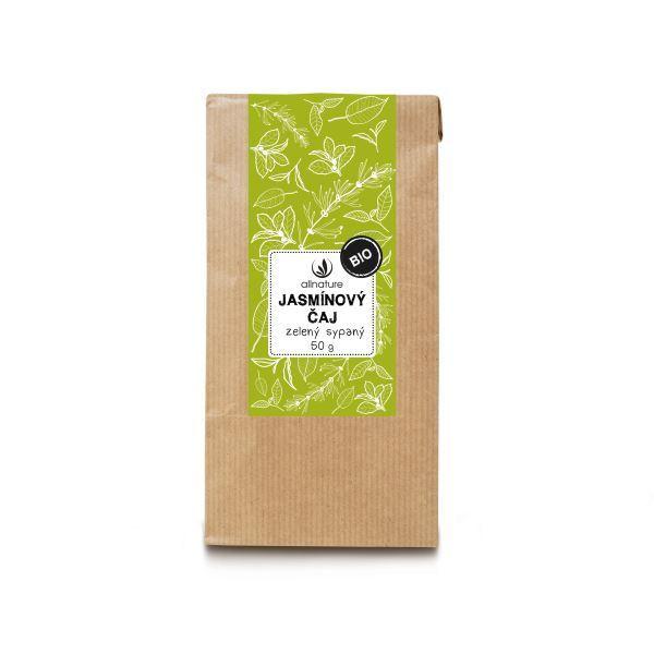 Jasmínový čaj zelený sypaný BIO 50 g