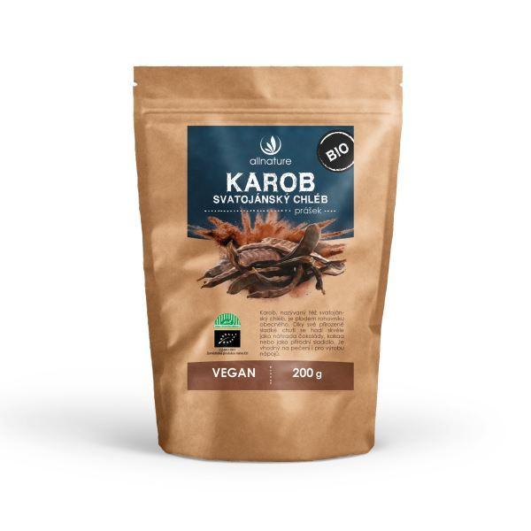 Zobrazit detail výrobku Allnature Karob - svatojánský chléb - prášek BIO 200 g