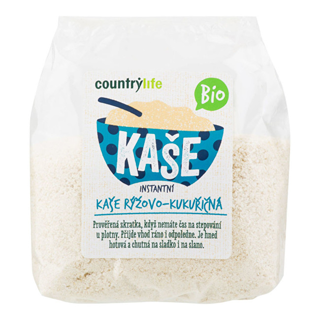 Zobrazit detail výrobku Country Life Kaše rýžovo-kukuřičná BIO 300g