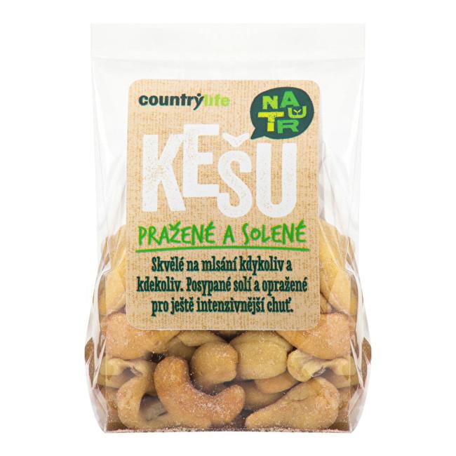 Zobrazit detail výrobku Country Life Kešu ořechy pražené solené 100g