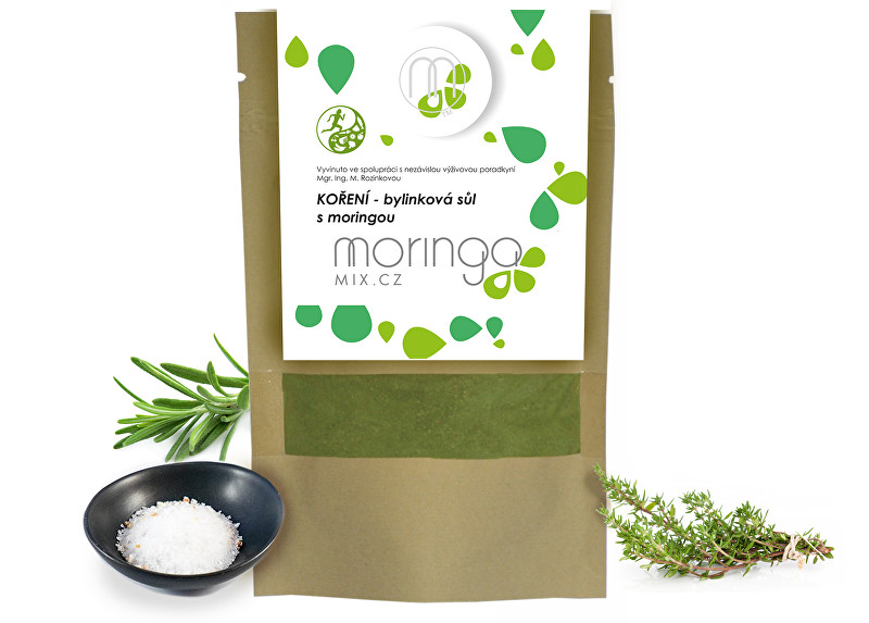 Zobrazit detail výrobku Moringa MIX Kořenící směs - bylinková sůl 30 g