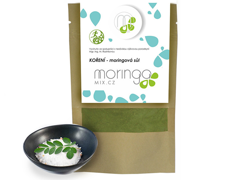 Zobrazit detail výrobku Moringa MIX Kořenící směs - moringová sůl 80 g