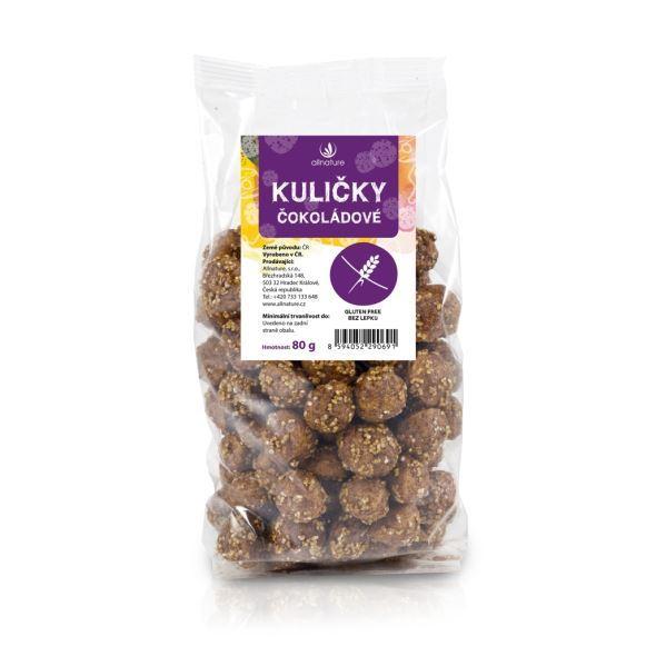 Zobrazit detail výrobku Allnature Kuličky čokoládové 80 g