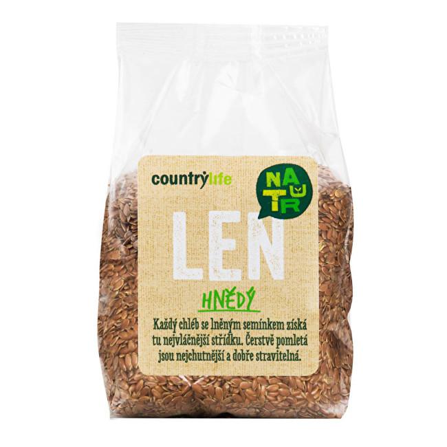 Zobrazit detail výrobku Country Life Len hnědý 300g