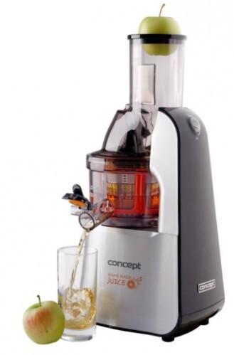Concept Lis na ovocie a zeleninu Home Made Juice SINFONIA LO7065 - nerez + čierna