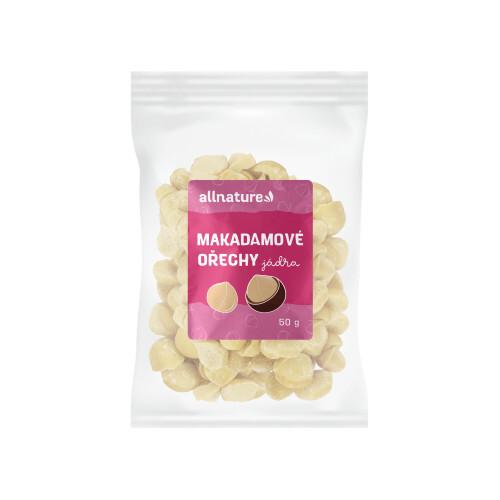 Zobrazit detail výrobku Allnature Makadamové ořechy 50 g